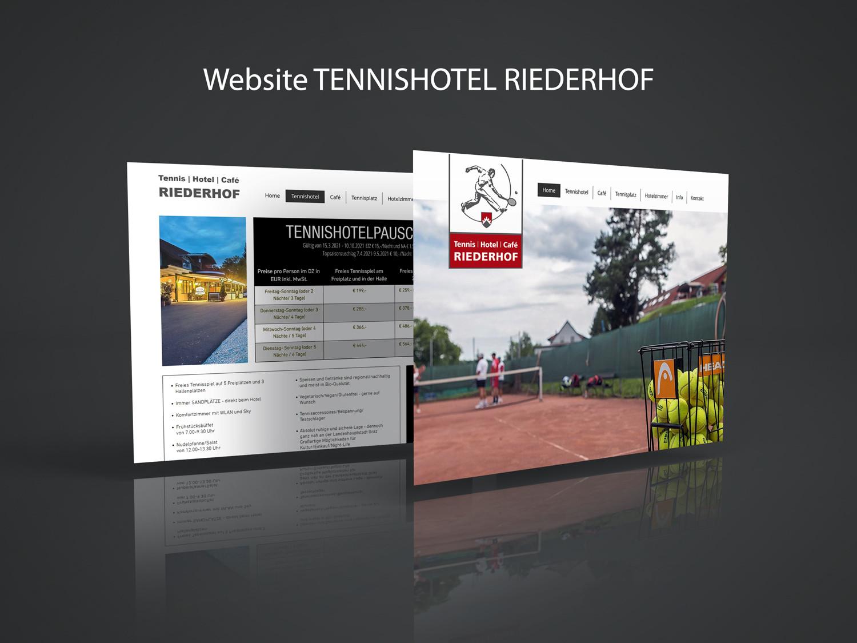 Website © Klarstil Werbeagentur