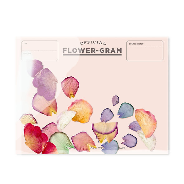 Flowergram - Peony, Rose + Hydrangea