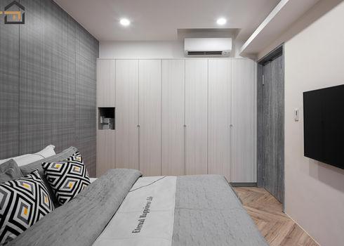 新店區室內裝潢-中興街公寓-主臥2