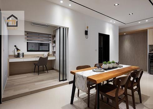 汐止室內設計-翠御-餐廳