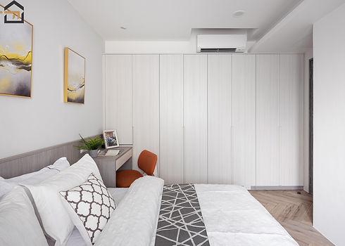 新店區室內裝潢-中興街公寓-次臥2