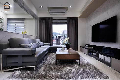 新店室內設計-勝旺有境-客廳