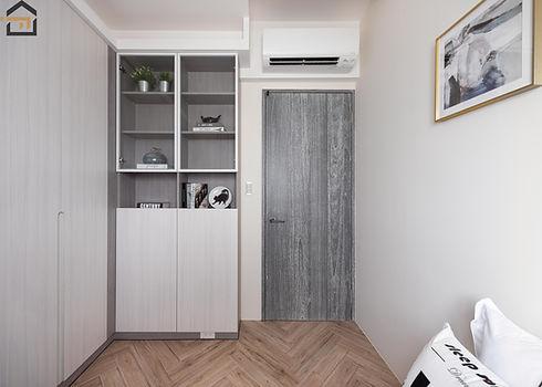 新店區室內裝潢-中興街公寓-次臥4