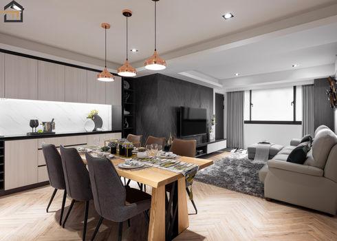 新店區室內裝潢-中興街公寓-飯廳2