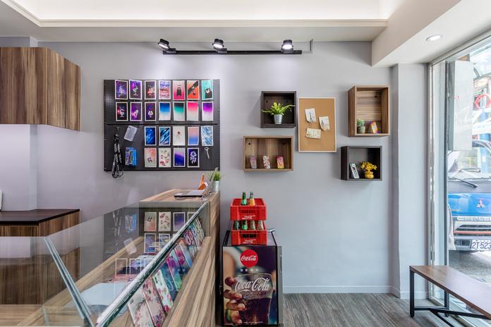 新店商業空間-小豪包膜