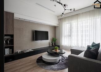 文山區室內設計-華固新天地-客廳