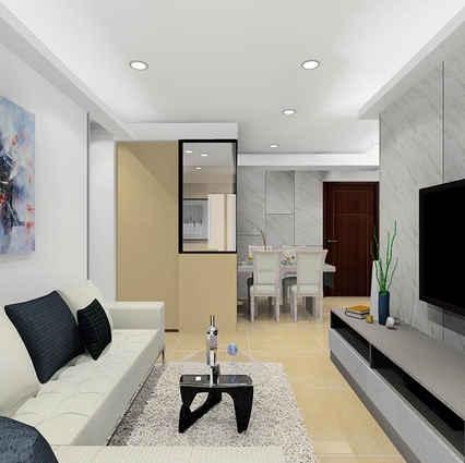 板橋室內設計   湛然幸福H
