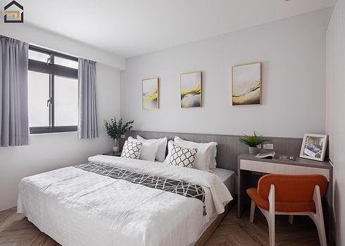 新店區室內裝潢-中興街公寓-次臥