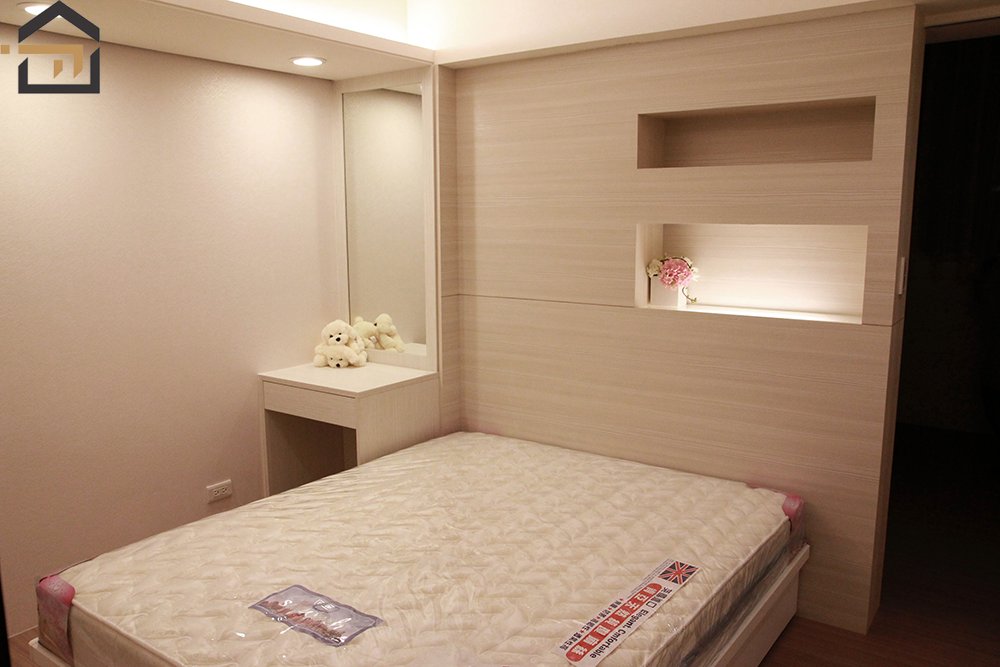 台北室內設計-汀洲路公館臥室