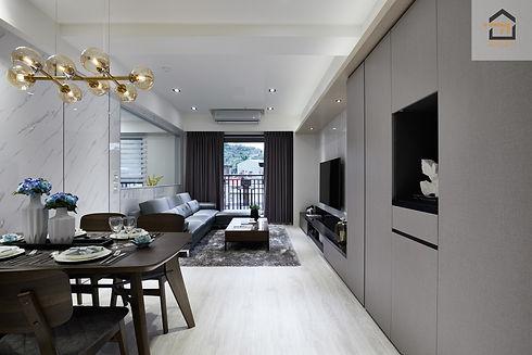 新店室內設計-勝旺有境-客廳3