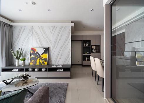 板橋室內設計-幸福小築-客廳