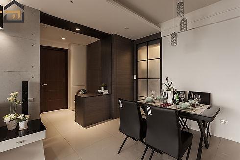 新莊室內設計-新莊福星-客廳2