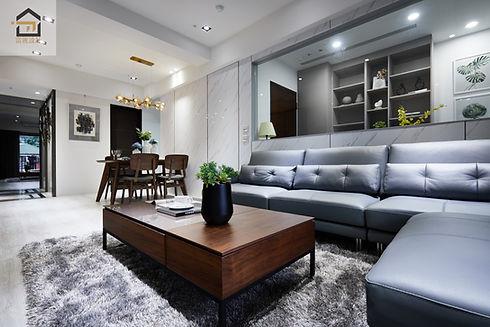 新店室內設計-勝旺有境-客廳2