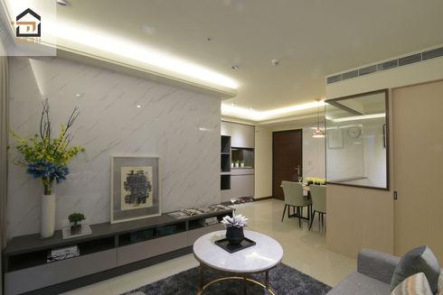 板橋室內設計-幸福時光-客廳2