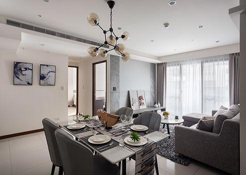 板橋室內設計-幸福新天地-客廳2
