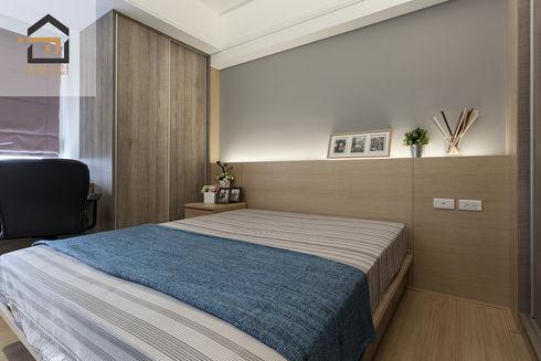 新店區公寓室內設計-玉上園-主臥