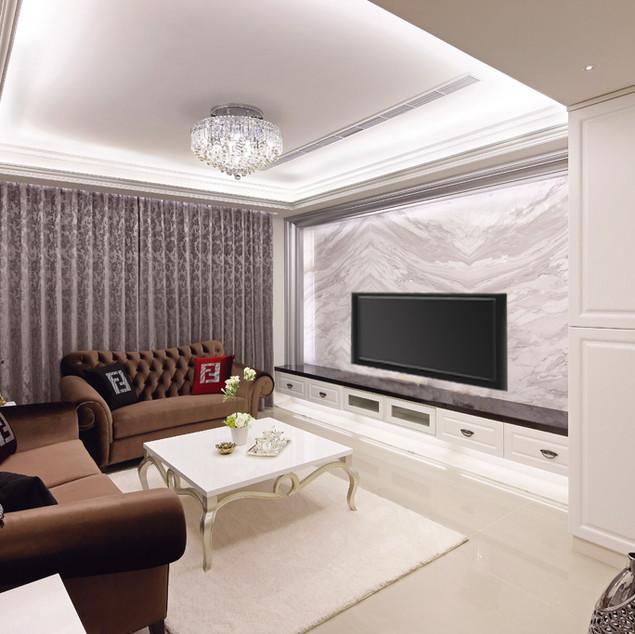 台北室內設計   東園名邸