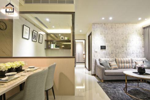 板橋室內設計-幸福時光-客廳