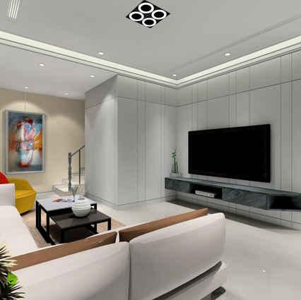新店區室內設計  伴山別墅