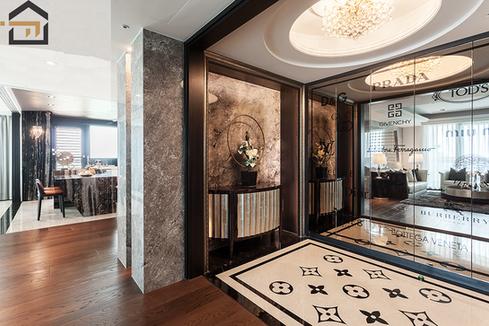 林口室內設計-世紀長虹-客廳
