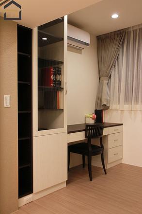大安室內設計-公寓書房-1