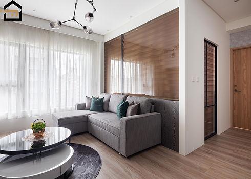 文山區室內設計-華固新天地-客廳3