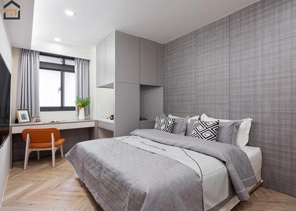 新店區室內裝潢-中興街公寓-主臥1
