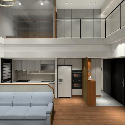 板橋室內設計-湛然新天地D