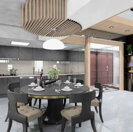 板橋室內設計-湛然新天地A