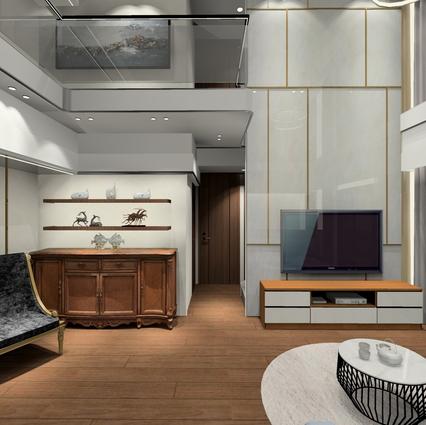板橋室內設計   湛然新天地