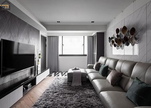 新店區室內裝潢-中興街公寓-客廳