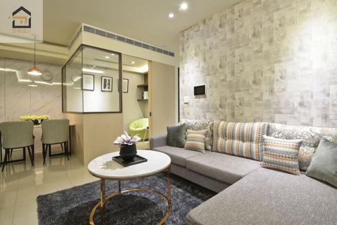 板橋室內設計-幸福時光-客廳3