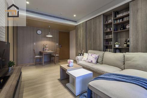 新店區公寓室內設計-玉上園-客廳2