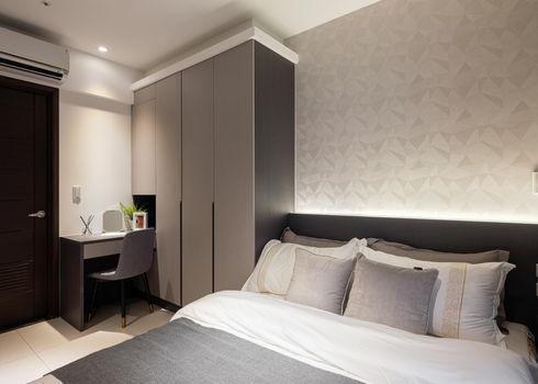 板橋室內設計-幸福小築-主臥