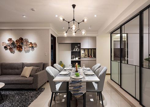 板橋室內設計-幸福新天地-飯廳