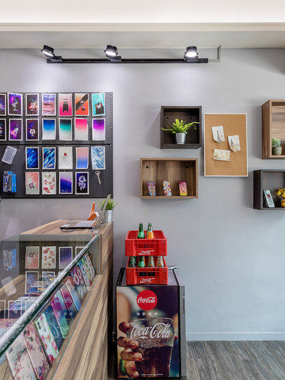 新店室內設計  小豪包膜
