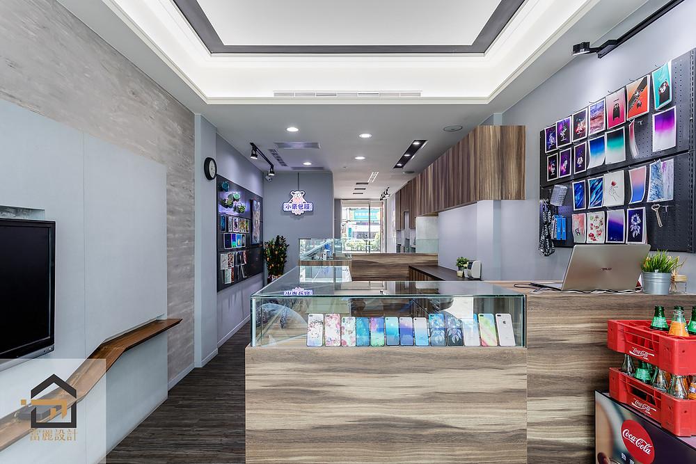 新店室內設計-小豪包膜新店店