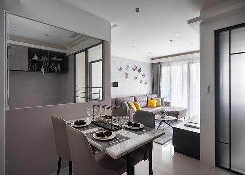 板橋室內設計-幸福小築-飯廳