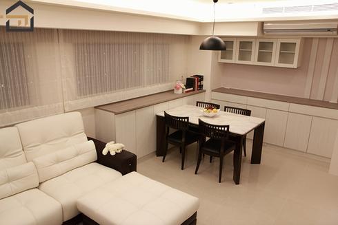 大安室內設計-公寓飯廳-1