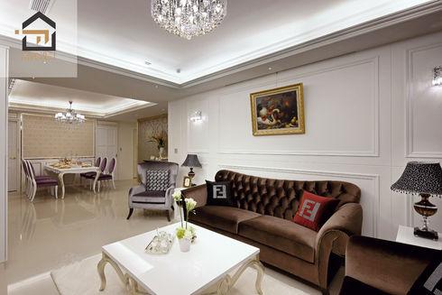 萬華室內設計-東園名邸-客廳3