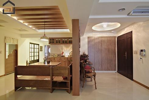 新莊室內設計-幸福空間-走廊