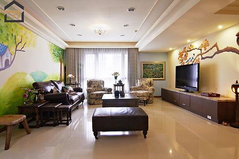 新莊室內設計-幸福空間-客廳