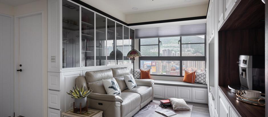 新北室內設計-春田吉市 小宅裝潢出法式農莊