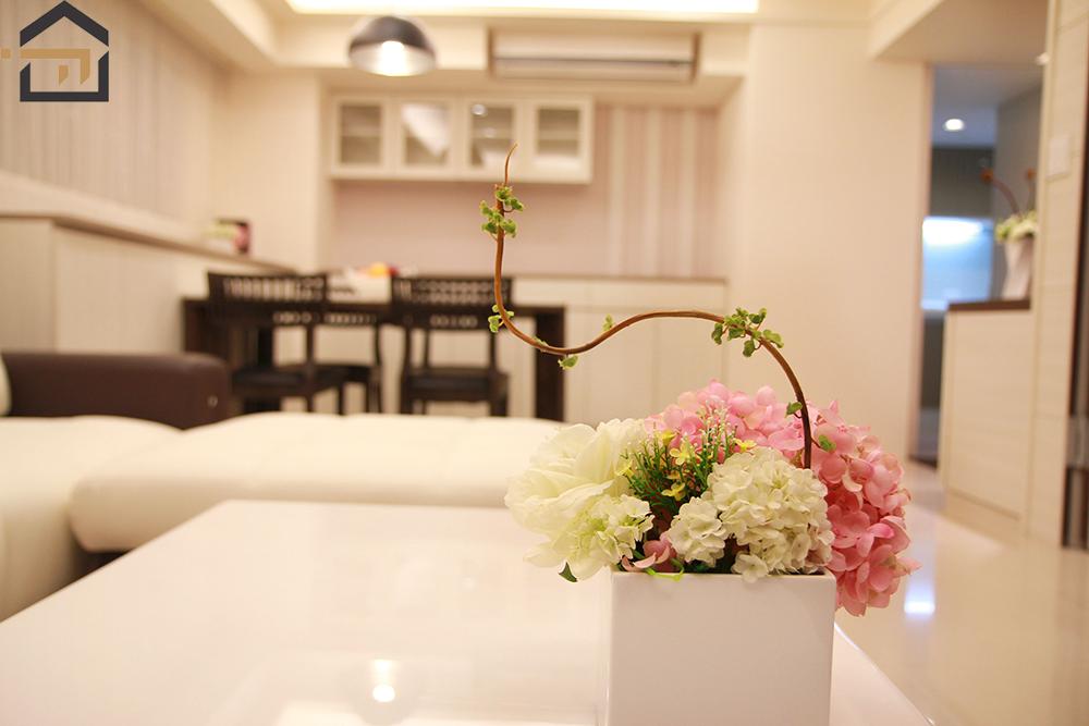 台北室內設計-汀洲路公館茶桌