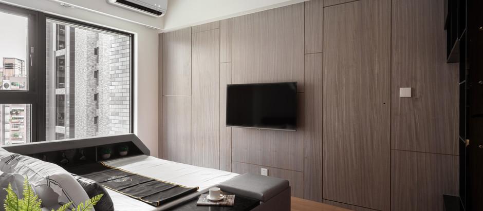 台北室內裝修-華固新天地 隱藏於輕工業風內的智能家居