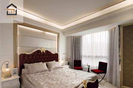 萬華室內設計-東園名邸-主臥室
