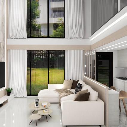 板橋室內設計-湛然新天地