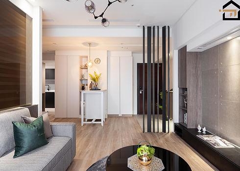 文山區室內設計-華固新天地-客廳4