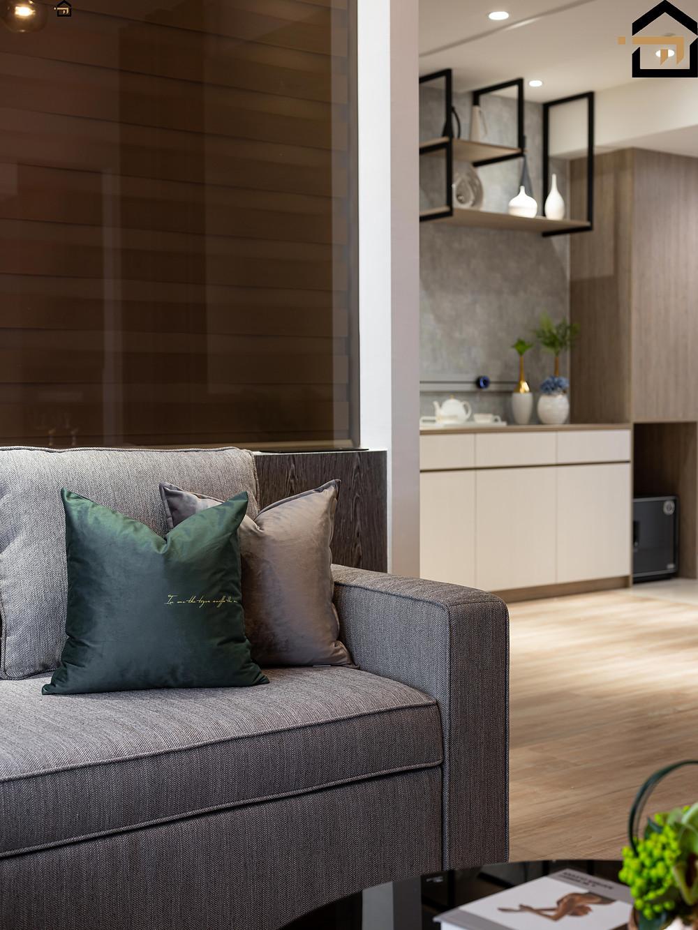 台北室內裝修-客廳沙發