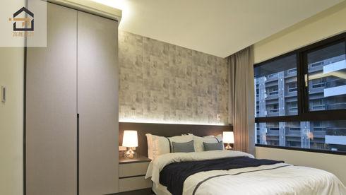 板橋室內設計-幸福時光-主臥